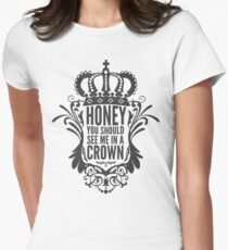 In A Crown - Deluxe Edition Women's Fitted T-Shirt