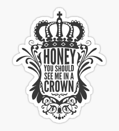 In A Crown - Deluxe Edition Sticker