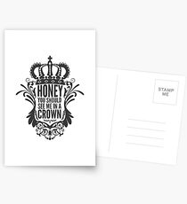 In A Crown - Deluxe Edition Postcards