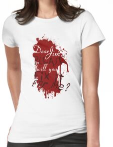 Dear Jim, Fix It For Me Womens Fitted T-Shirt