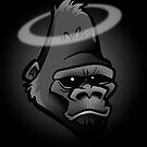 R.I.P. Harambe the Gorilla by binarygod