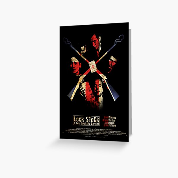 Lock, Stock, & Two Smoking Barrels Poster Greeting Card