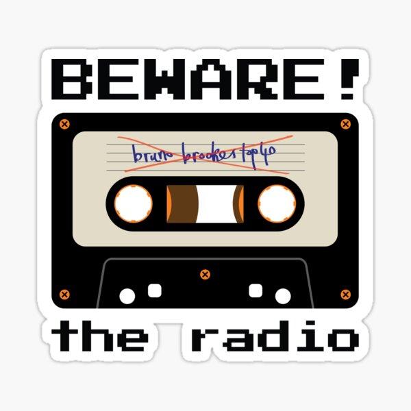 Beware! The Radio • MIXTAPE Sticker