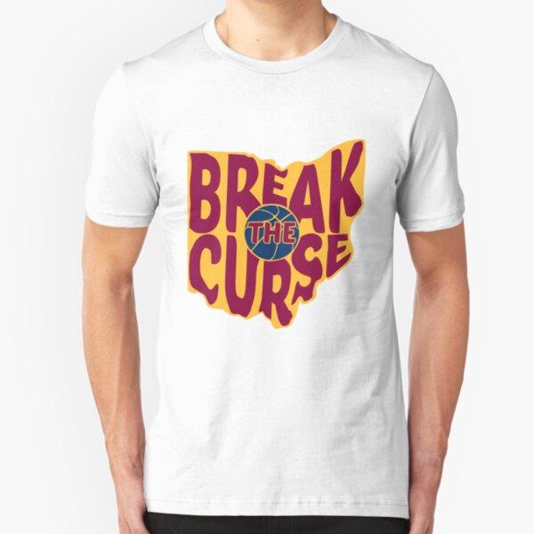 Break The Cleveland Curse Slim Fit T-Shirt