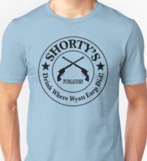 Shorty's Saloon from Wynonna Earp Unisex T-Shirt