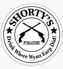 Shorty's Saloon from Wynonna Earp Sticker