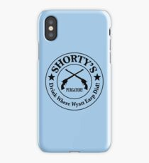 Shorty's Saloon from Wynonna Earp iPhone Case/Skin