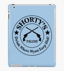 Shorty's Saloon from Wynonna Earp iPad Case/Skin