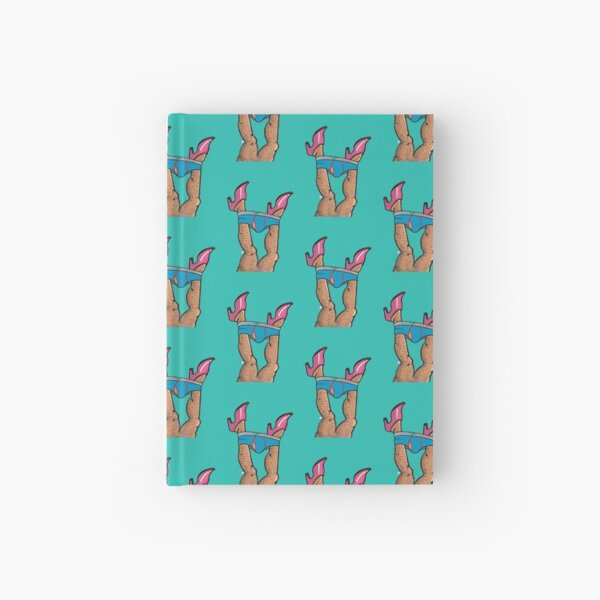 All Legs up Hardcover Journal