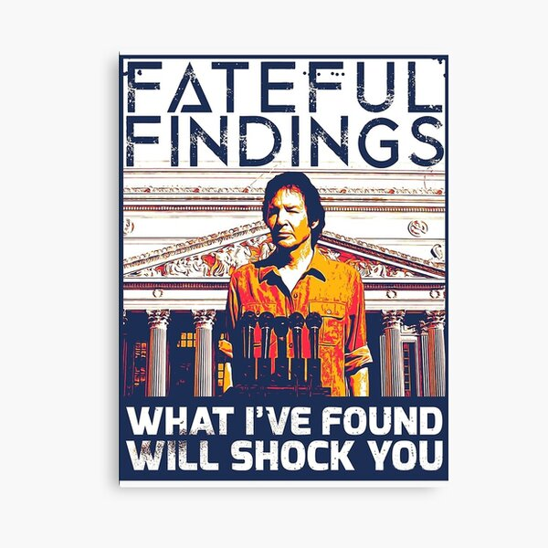 Fateful Findings Canvas Print