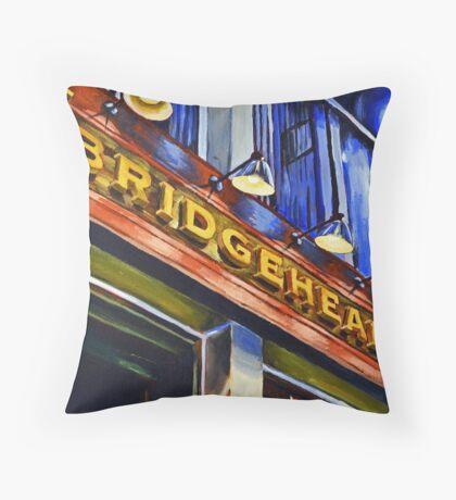 Bridgehead Throw Pillow