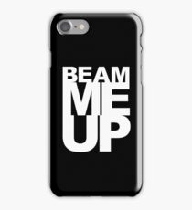 Beam Me Up iPhone Case/Skin