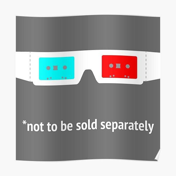 Beware! The Radio • 3D GLASSES Poster