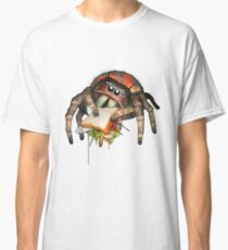 """""""Lunch on the Fly"""" Jumping Spider Sandwich #2 Classic T-Shirt"""