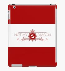 Not My Division iPad Case/Skin