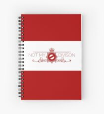 Not My Division Spiral Notebook