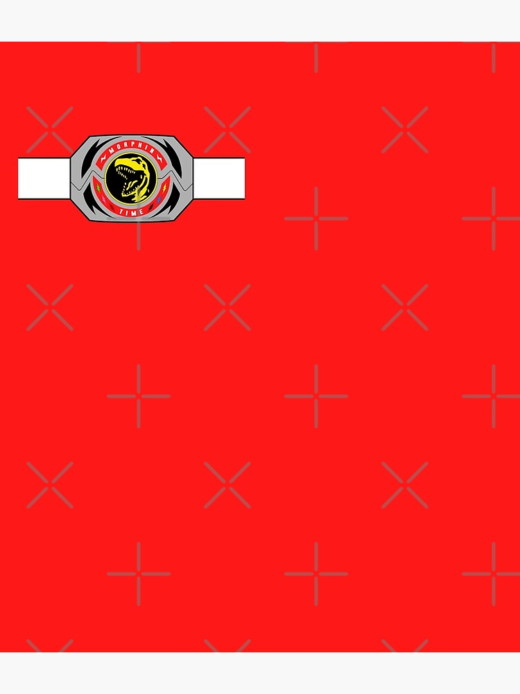 Red Ranger Morphin Coin by Ravensclaw3