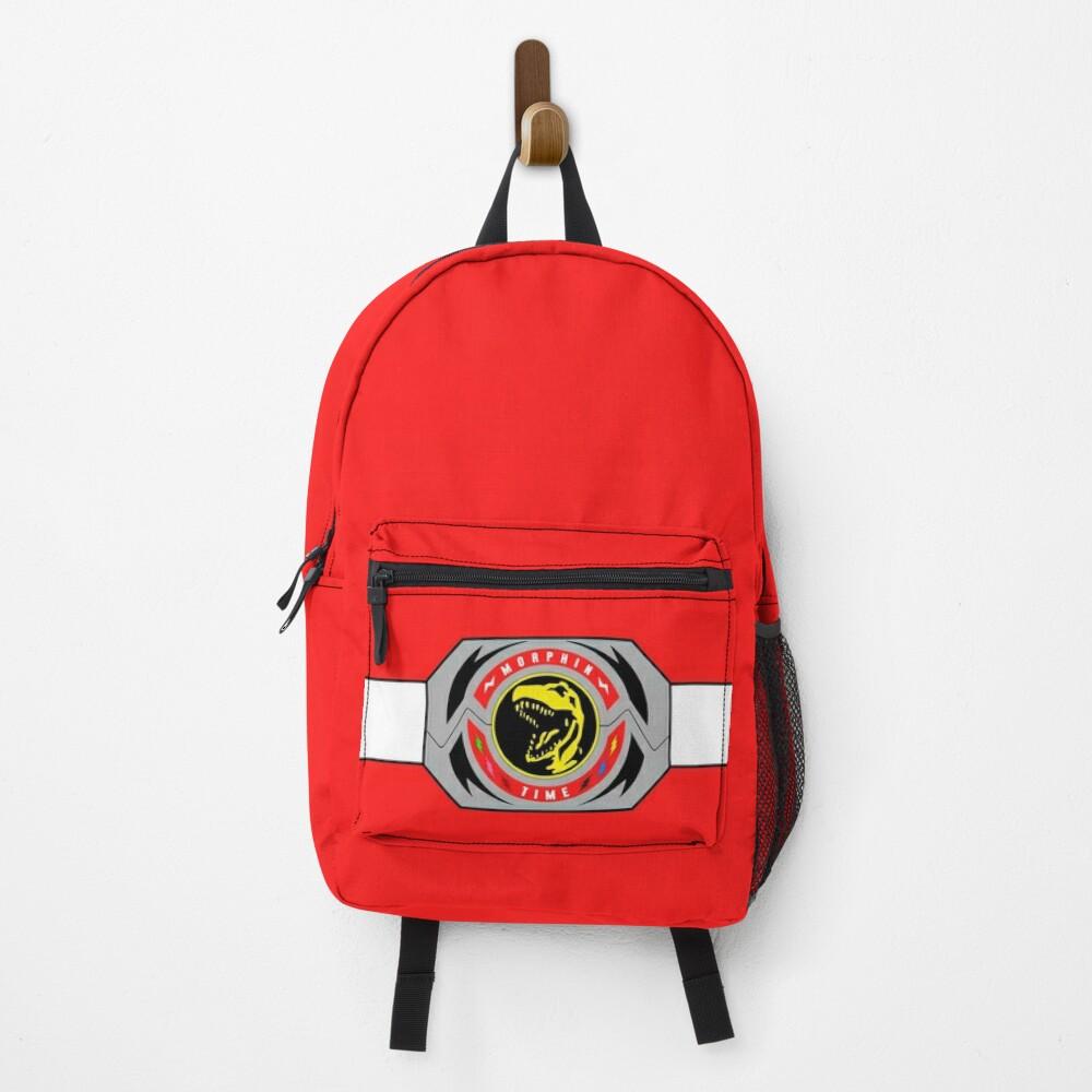 Red Ranger Morphin Coin Backpack