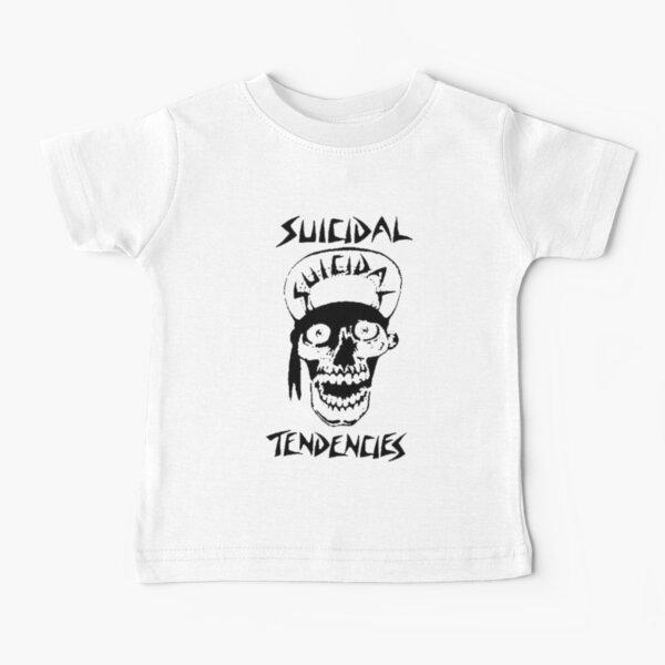 """america dream metal theatre of music el merchandising de la fábrica de """"SUICIDAL TendenCIES"""" Camiseta para bebés"""