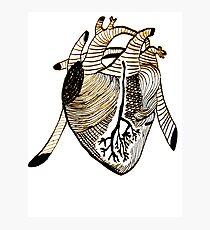 Empty Heart Photographic Print