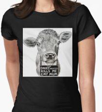 Stolen Lives. Stolen Milk. Womens Fitted T-Shirt