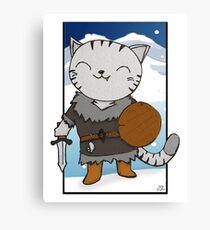 RPG Kitty Canvas Print