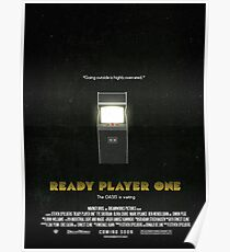Ready Player One - Film Poster Poster