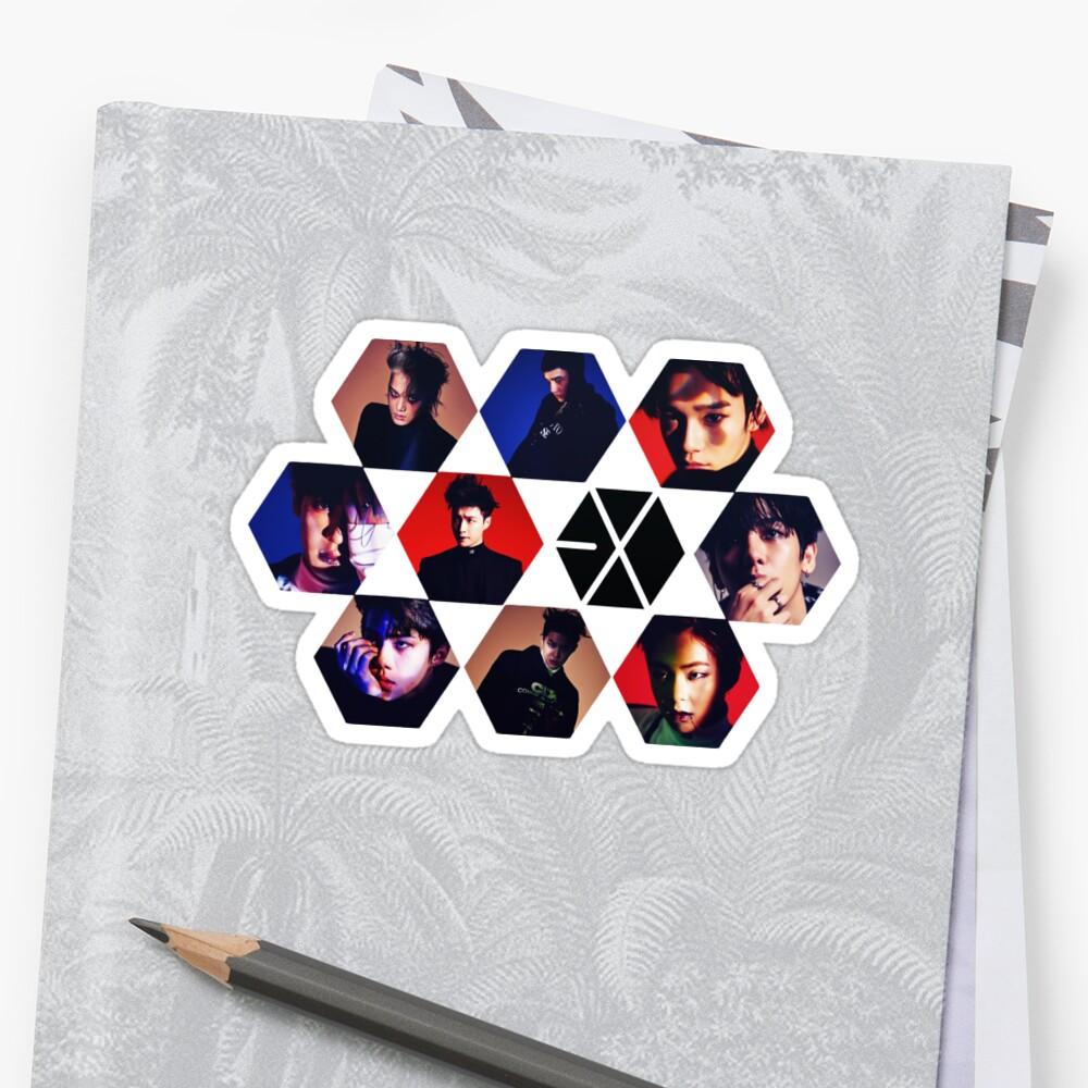 EXO Sticker