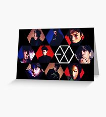 EXO Greeting Card