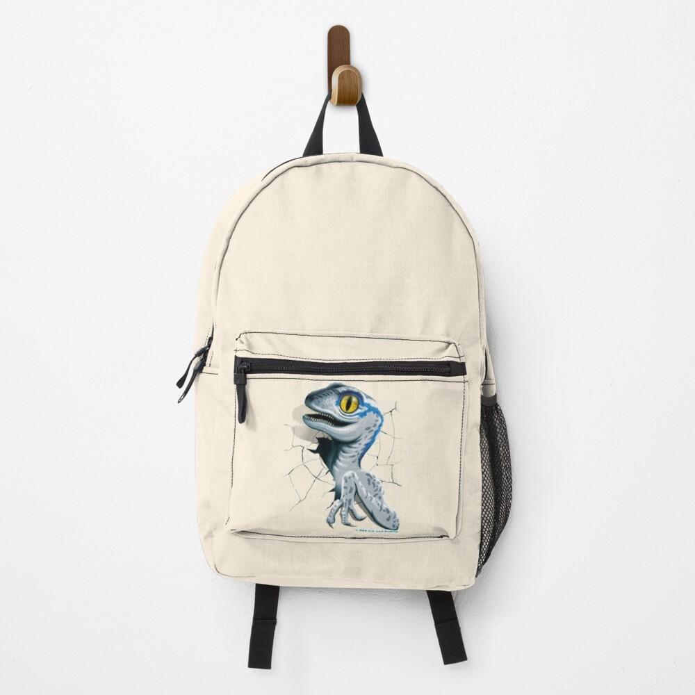 Jurassic World - Baby Blue Velociraptor Backpack