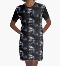 The Doctor and his blue box Graphic T-Shirt Dress