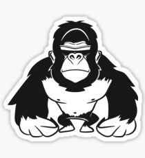 Gorilla agro cool sunglasses Sticker