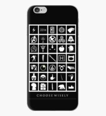 Choose Wisely Fandom iPhone Case
