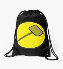 Captain Mewmew Drawstring Bag