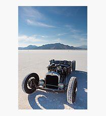 Vintage Packard racing car Photographic Print