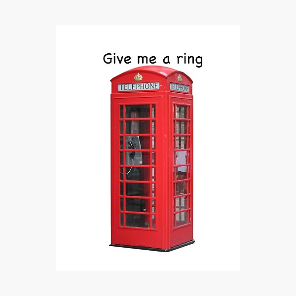 Give me a ring Photographic Print