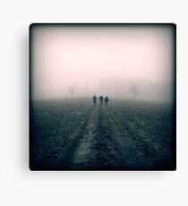 Distant Roads Canvas Print