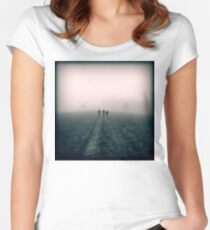 Distant Roads Women's Fitted Scoop T-Shirt