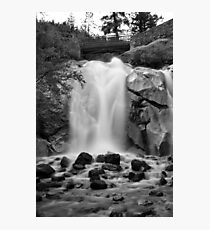 Helen Hunt Falls #2 (Black and White) Photographic Print
