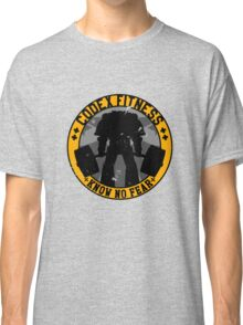 Know No Fear (large badge) Classic T-Shirt