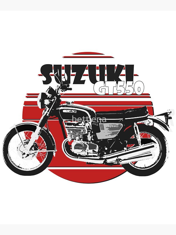 Suzuki GT550 by bettiena