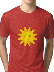 Smiling sun Tri-blend T-Shirt