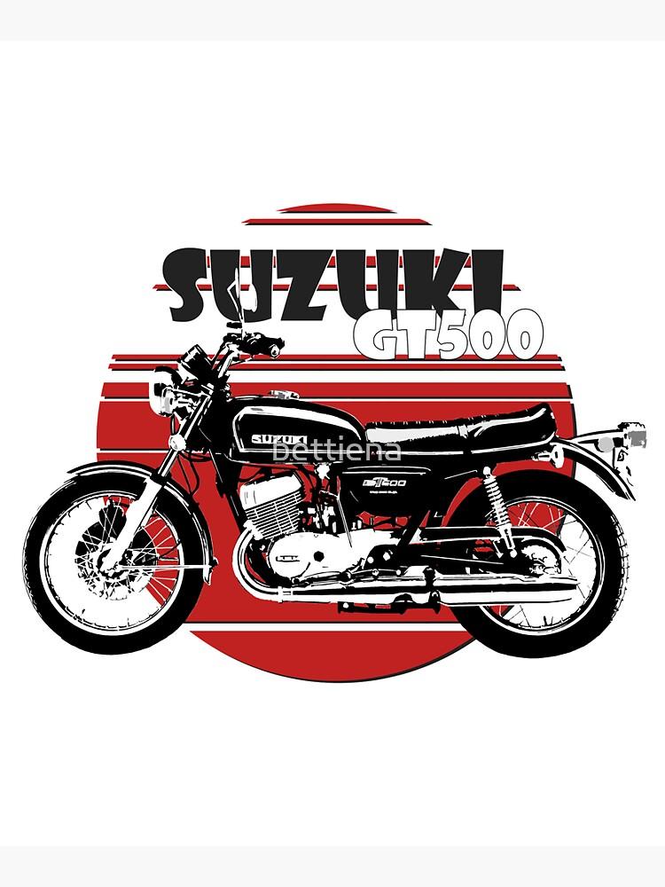 Suzuki GT500 by bettiena