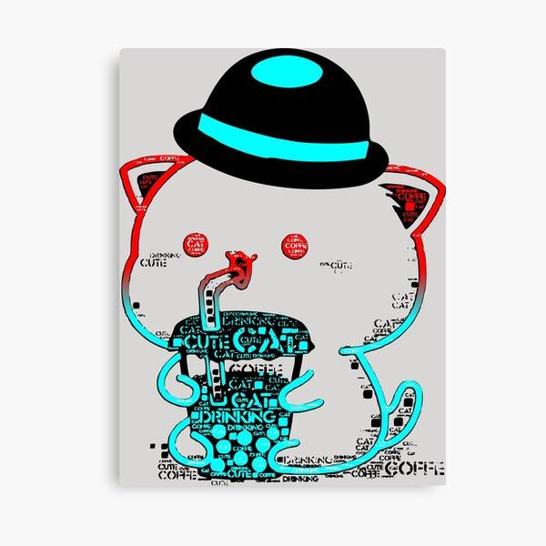 Chat Tintin Impression sur toile