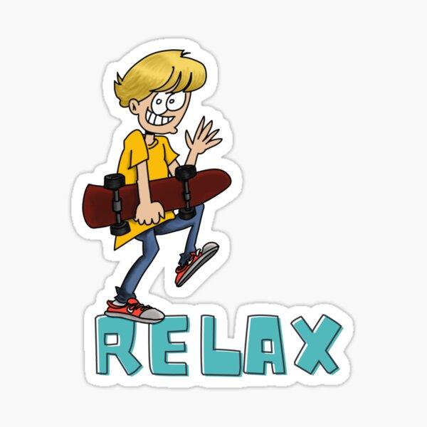 Relax Sticker