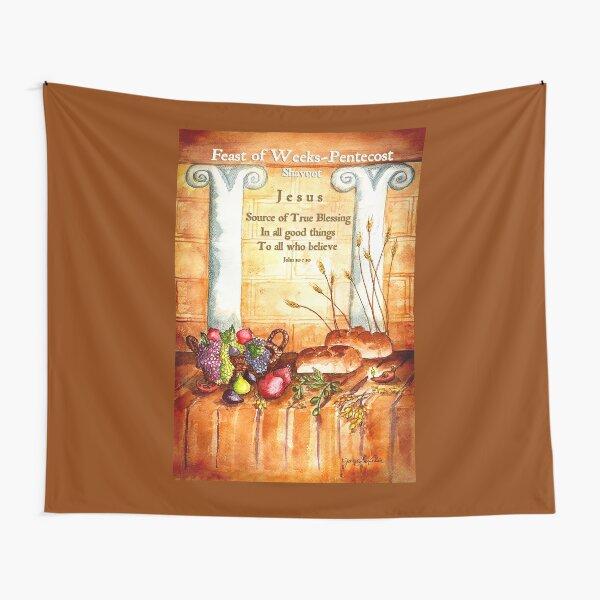 Feast of Weeks - Pentecost Shavuot Tapestry