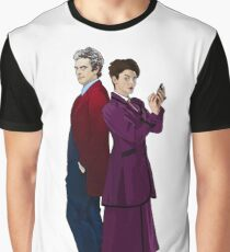Missy and The Doctor Graphic T-Shirt