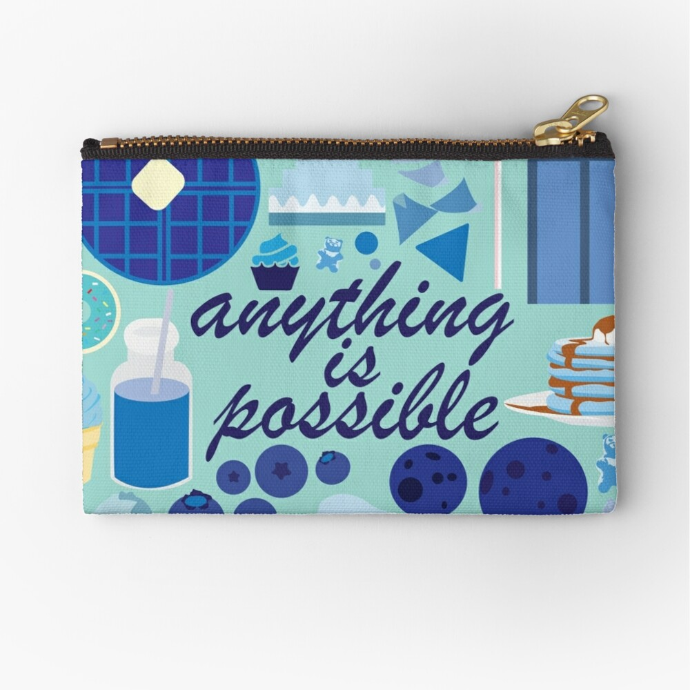 Anything is Possible Zipper Pouch