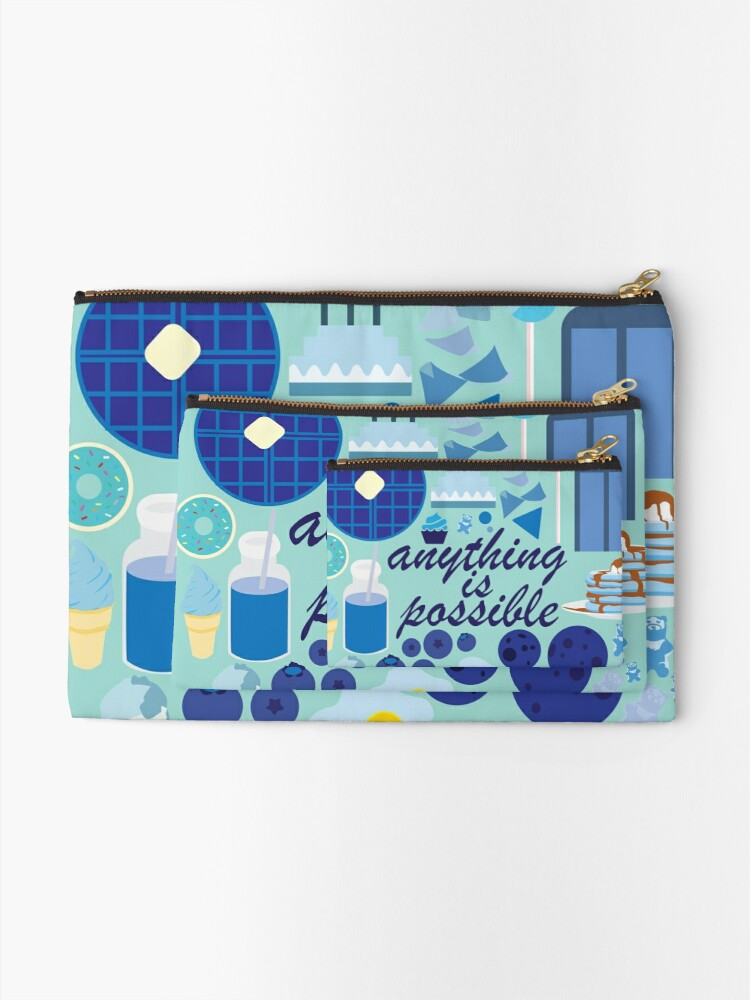 Alternate view of Anything is Possible Zipper Pouch