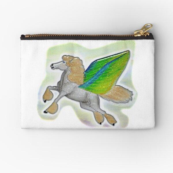 Flying Pegasus Zipper Pouch